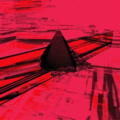 Glitch Dark Side Pink Moon Floyd 3d