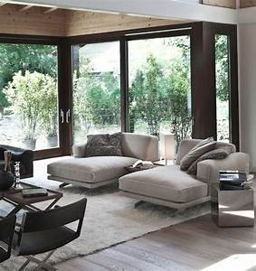 Inspiration hollywood 34 stylish interiors sporting the for Chaise lounge living room
