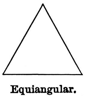 acute angles equiangular triangle clipart etc
