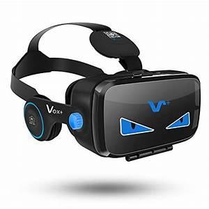 Virtuelle Realität Brille : vox vr headset weihnachtsgeschenk videobrillen 3d headset mit einstellbar brennweite 3d vr ~ Orissabook.com Haus und Dekorationen