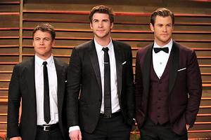 Chris, Liam, and Luke Hemsworth | Celebrity Siblings You ...