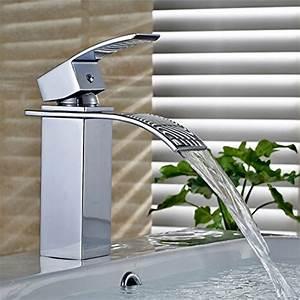Handtuchhalter Für Flachheizkörper : auralum design einhebel wasserhahn armatur waschtischarmatur wasserfall einhandmischer f r ~ Markanthonyermac.com Haus und Dekorationen