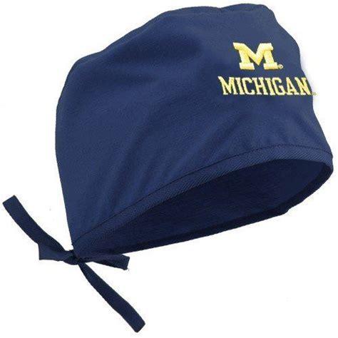 Michigan Wolverines Navy Blue Scrub Cap by Football ...