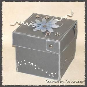Boite Archive Deco : boite explosion celine scrap creation scrapbooking cartes mini album deco ~ Teatrodelosmanantiales.com Idées de Décoration