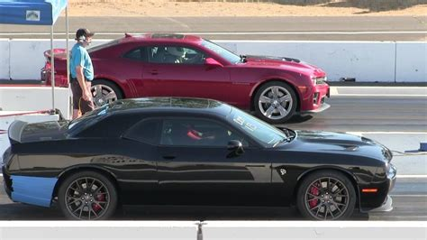Biggest Rivals In 14 Mile Drag Race! Zl1 Camaro Vs