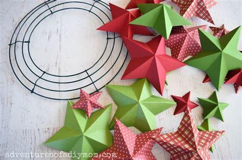 diy star wreath  images diy wreath