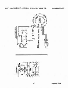 Craftsman Generator 580 32727 User U0026 39 S Manual