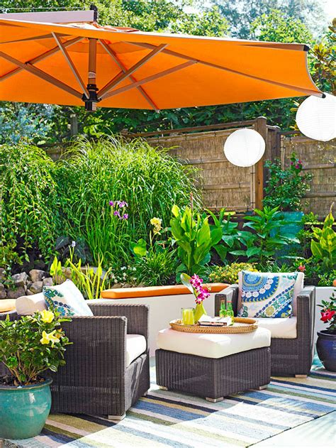 Outdoor Home Decor Ideas by Stylish Decorative Touches For Outdoor Rooms