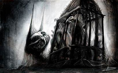 Scary Wallpapers Creepy Horror Dark Gothic Drawings