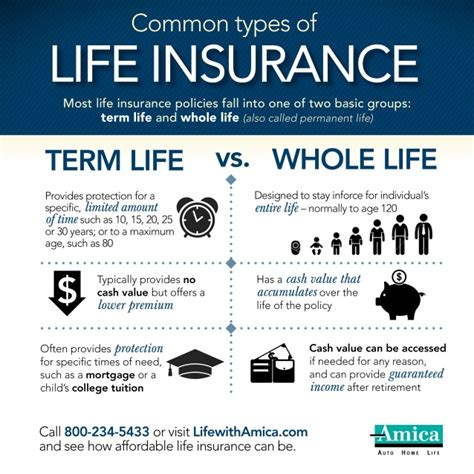 What do you want the insurance to permanent, which provides coverage for the rest of your life. Common Types of Life Insurance Infographic