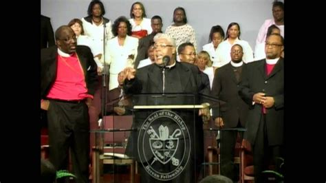pastor rance allen great  thy faithfulness youtube