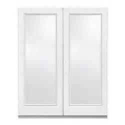 72 in x 80 in white right 1 lite patio door