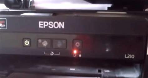 تصفير طابعة إبسون Epson L220