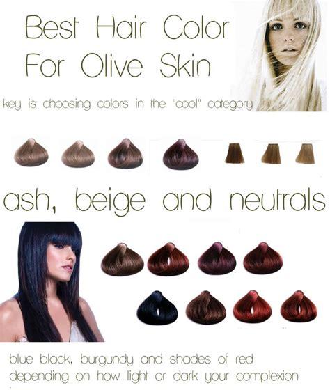 hair color olive skin ash beige neutrals burgundy blue