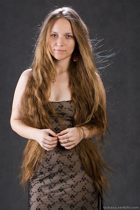 classic length hair