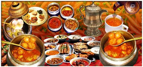 kashmir indian cuisine praise of kashmir valleys while enjoying