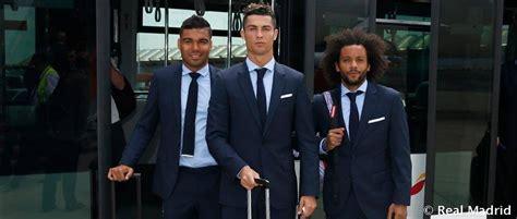 Watch Real Madrid Arrive In Kiev To A Warm