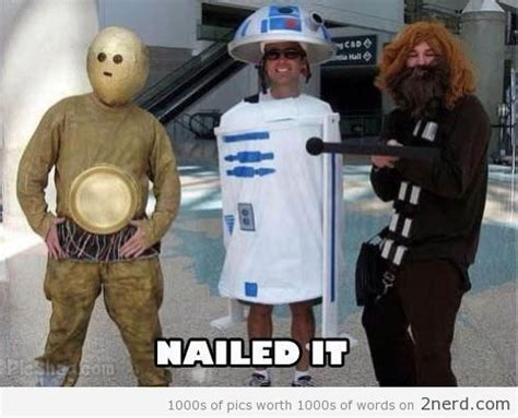 Star Wars Nerd Meme - star wars cosplay fail2 nerd 2 nerd2 nerd