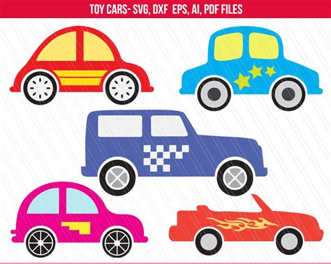 Car Svg, Toy Car Svg, Toy Car Clipart For Kids Tshirt