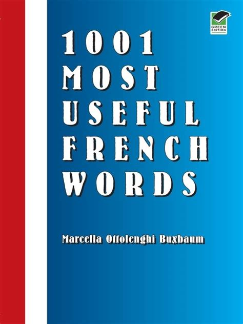 1001 Most Useful French Words by Marcella Ottolenghi ...