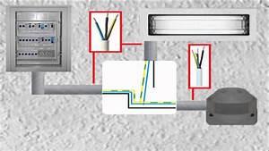 Fi Schalter Anklemmen : bewegungsmelder an lampe anschlie en anklemmen installieren elektroinstallation selber ~ Whattoseeinmadrid.com Haus und Dekorationen