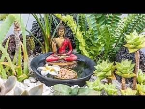 comment faire un petit jardin zen youtube With comment realiser un jardin zen