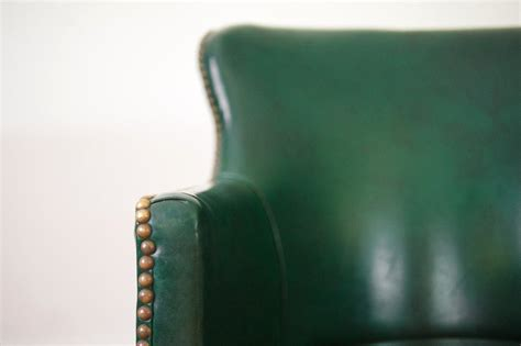 emerald green accent chair homestead seattle