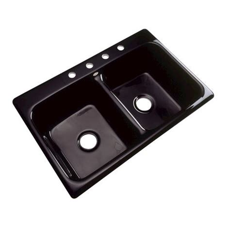 Black Kitchen Sink Menards by Westport Bowl Kitchen Sink 4 Faucet At Menards 174
