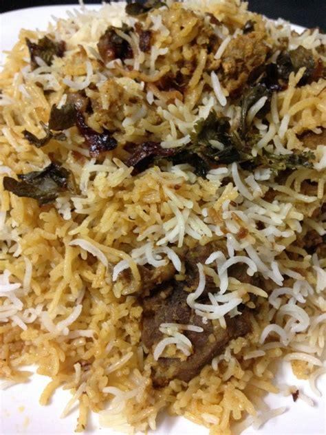 Kitchens Of India Hyderabadi Biryani by Hyderabadi Mutton Biryani Recipe Indian Kitchen