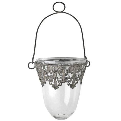Windlichter Zum Aufhängen by Windlicht Laterne Zum H 228 Ngen Glas Metall 216 13cm 15cm