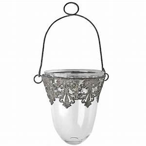 Glas Windlicht Zum Hängen : windlicht laterne zum h ngen glas metall 13cm 15cm ~ Bigdaddyawards.com Haus und Dekorationen
