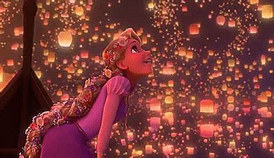 floating lanterns tangled tumblr