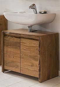 Badezimmer Unterschrank Holz : kasper wohndesign badezimmer waschbecken unterschrank akazie massiv holz live edge online ~ One.caynefoto.club Haus und Dekorationen