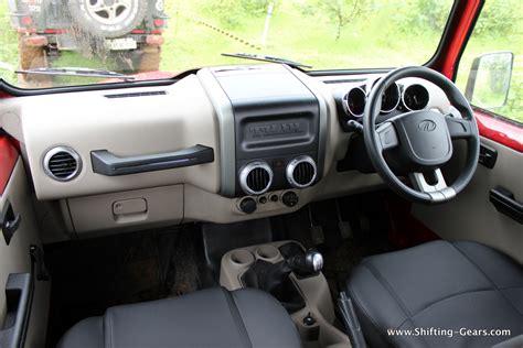 thar jeep interior mahindra thar crde 4 215 4 review shifting gears