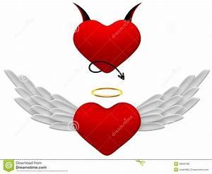 Ange Et Demon : ange et d mon de symboles image libre de droits image 28933766 ~ Medecine-chirurgie-esthetiques.com Avis de Voitures