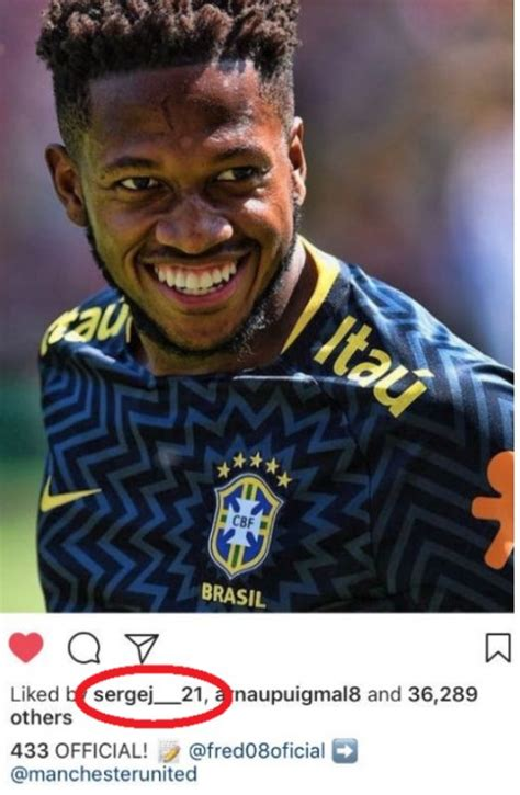 Milinkovic-Savic Man Utd transfer hint with Fred Instagram ...