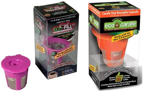 Perfect Pod Eco-Fill 2.0 Deluxe and Eco-Carafe for Keurig ...