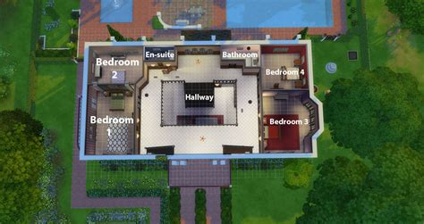 two bedroom home plans mod the sims 2 mansion castle 4 bedroom 4