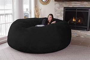 chill sack bean bag chair giant 839 memory foam furniture With big soft bean bag chairs