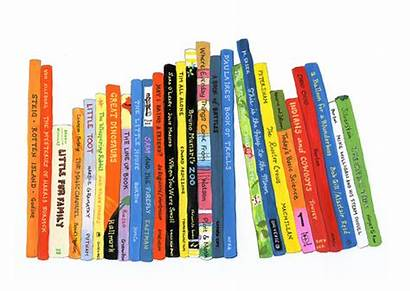 Bookshelf Books Children Clipart Shelf Clip Horizontal