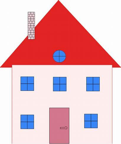 Clip Estate Colonial Clipart Domain Clker Vector