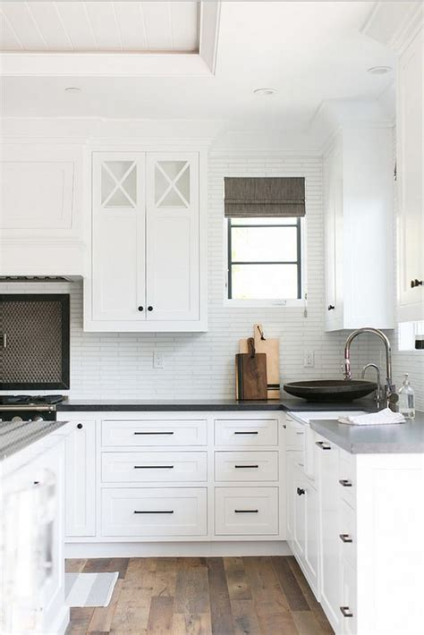 white ceramic cabinet knobs black hardware kitchen cabinet ideas the inspired room