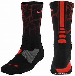 Nike LeBron Socks to Sport with the Nike LEBRON 12 Heart ...