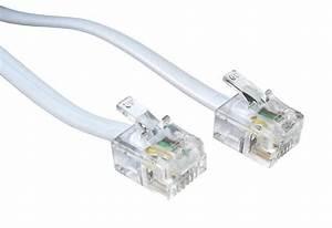 Rj11 To Rj11 Cable Adsl Bt Broadband Modem Internet Dsl