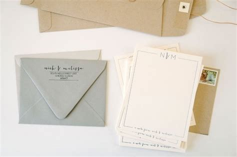 personal stationary nick mel personal stationery