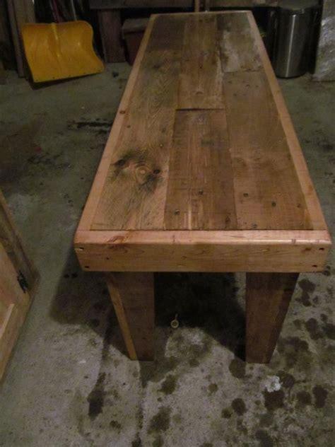 diy rustic  sturdy pallet bench seat pallet furniture