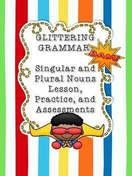 singular plural nouns tpt free lessons