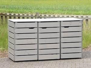 Mülltonnenbox Holz Anthrazit : 3er m lltonnenbox holz 240 liter m lltonnenbox holz ~ Whattoseeinmadrid.com Haus und Dekorationen