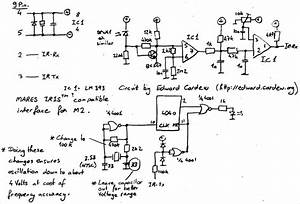 Mares Iris Interface Schematic Circuit