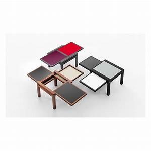 Table De Salon Modulable : table basse personnalisable et modulable trio ~ Teatrodelosmanantiales.com Idées de Décoration